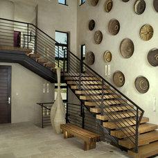 Modern Staircase by Slifer Designs