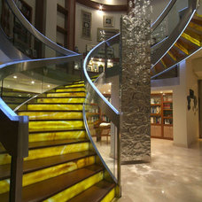 Contemporary Staircase by Aurelio Vazquez