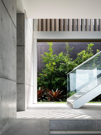 Contemporary Staircase by TKD Architects
