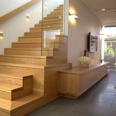 Contemporary Staircase by Look Design Group P/L