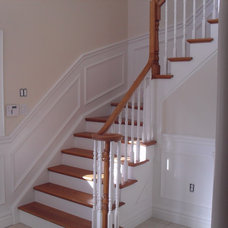 Traditional Staircase by Painting Etc.