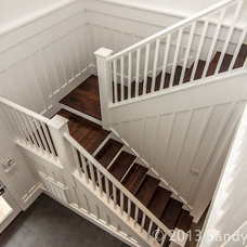 Traditional Staircase by WaterMark Coastal Homes, LLC