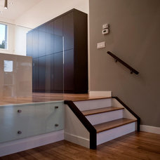 Contemporary Staircase by o2 developments