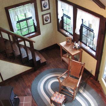 Mountain cabin small space ideas