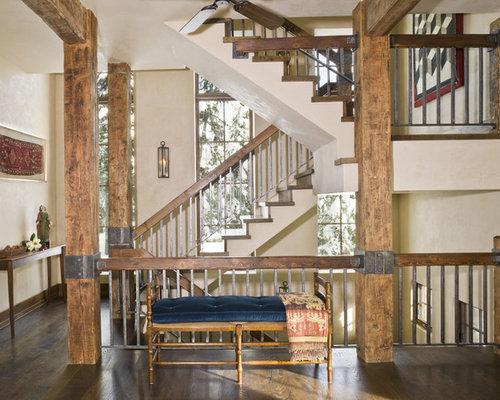 Rustic Mountian Stair Railings: Rustic Railing