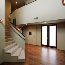 Contemporary Staircase by Cynthia Marks - Interiors
