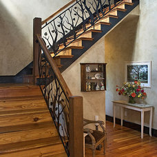 Traditional Staircase by The Berry Group