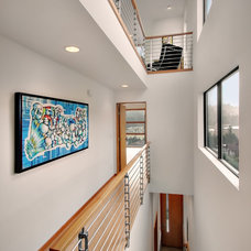 Contemporary Staircase by Chris Pardo Design - Elemental Architecture