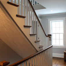 Traditional Staircase by James Gilroy - Housewright