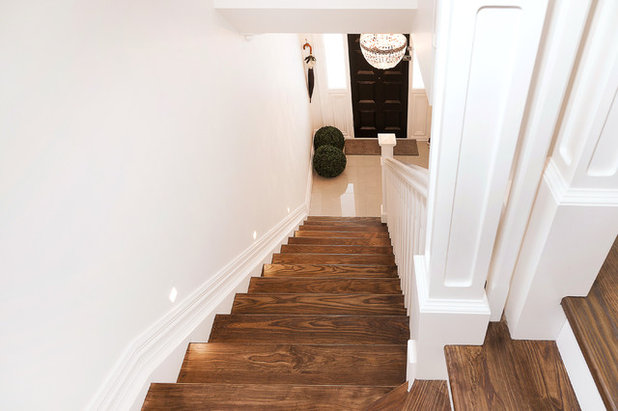Traditional Staircase by Stylecraft Stairways