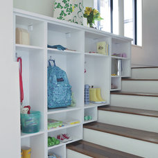 Traditional Staircase by California Closets
