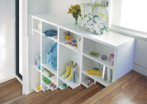 10 rangements malins pour petits espaces - Rangement chaussures petit espace ...