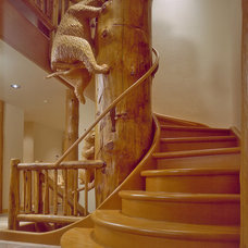 Eclectic Staircase by Roger Turk/Northlight Photography