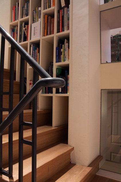 Eclectic Staircase by Louise de Miranda