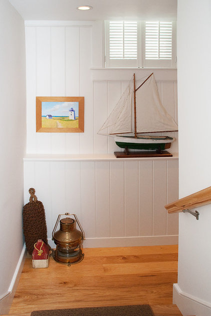 Beach Style Staircase by Mary Prince