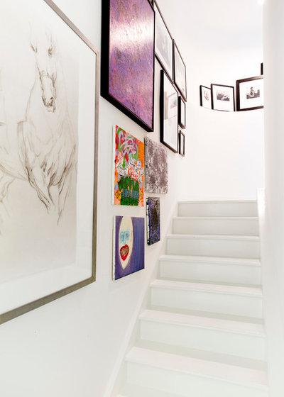 Modern Staircase by Rikki Snyder