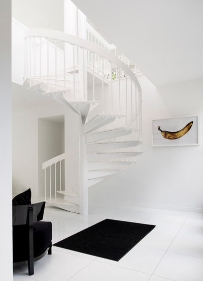 Contemporary Staircase by Rikki Snyder
