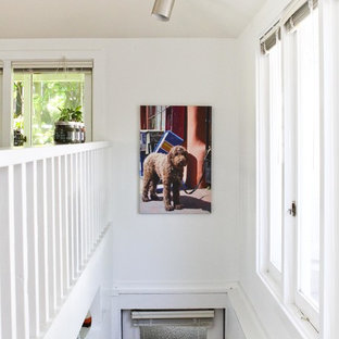 Staircase - eclectic staircase idea in Seattle