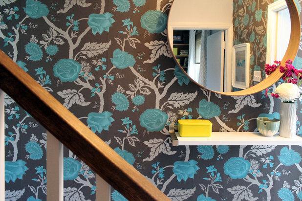 Midcentury Staircase by Laura Garner
