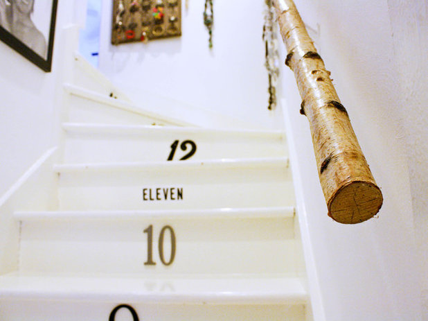 Eclectic Staircase by Mina Brinkey