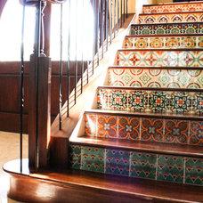 Mediterranean Staircase by Mina Brinkey