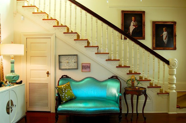 Traditional Staircase by Corynne Pless