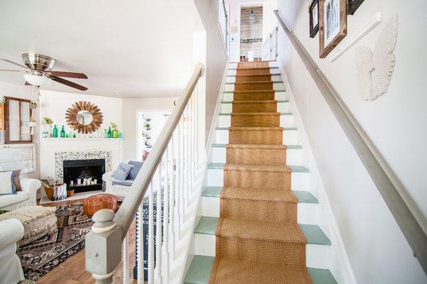 Farmhouse Staircase by Alexandra Crafton