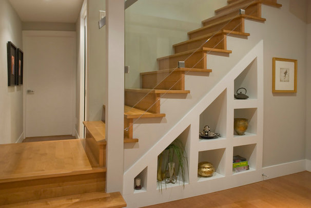 Contemporary Staircase by Heather Merenda