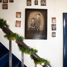Farmhouse Staircase by Tess Fine