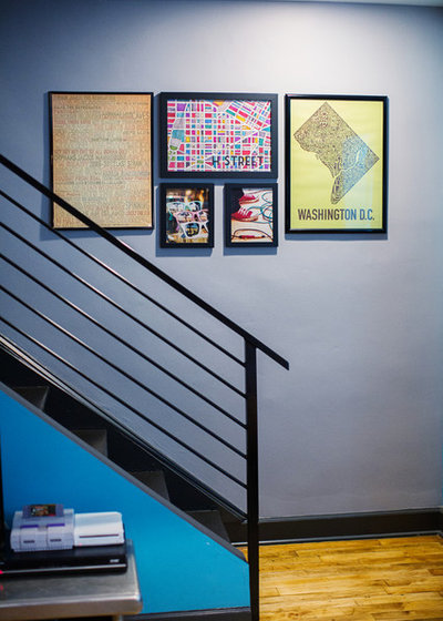 Eclectic Staircase by Edwina Benites-LM