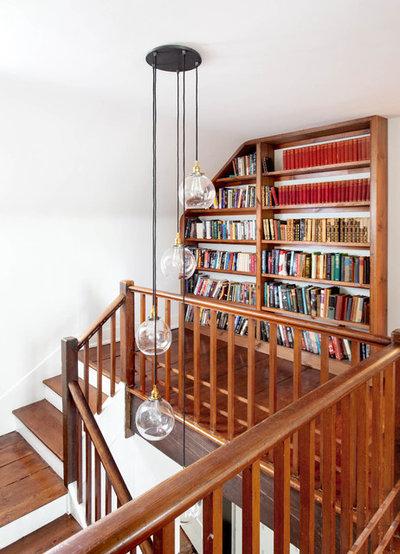 Farmhouse Staircase by Rikki Snyder