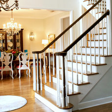 Traditional Staircase by Mina Brinkey