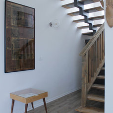 Eclectic Staircase by Esther Hershcovich