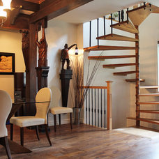 Eclectic Staircase by Laura Garner
