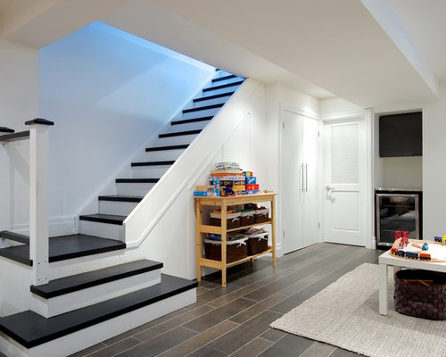 Basement stairs home design ideas pictures remodel and decor - Basement stairs ideas ...