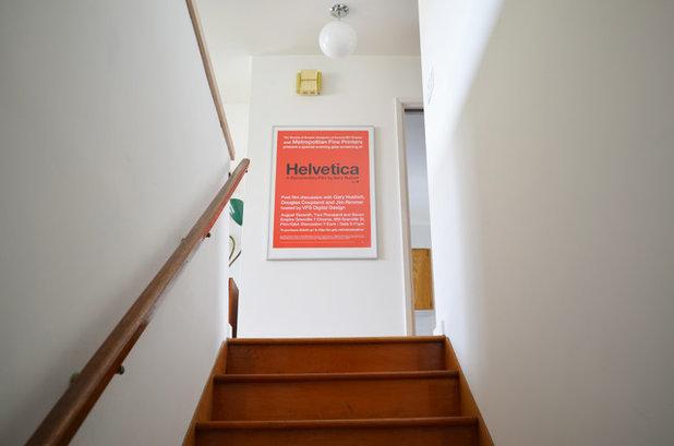 Midcentury Staircase by Jane Vorbrodt