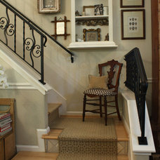 Eclectic Staircase by Shannon Malone