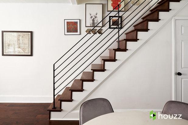 Classique Chic Escalier by Ferrarini & Co. Kitchens & Interiors