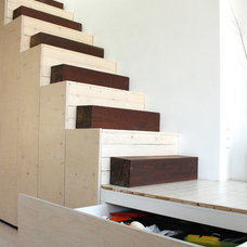 Modern Staircase by Holly Marder