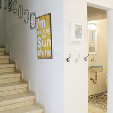 Contemporary Staircase by Esther Hershcovich