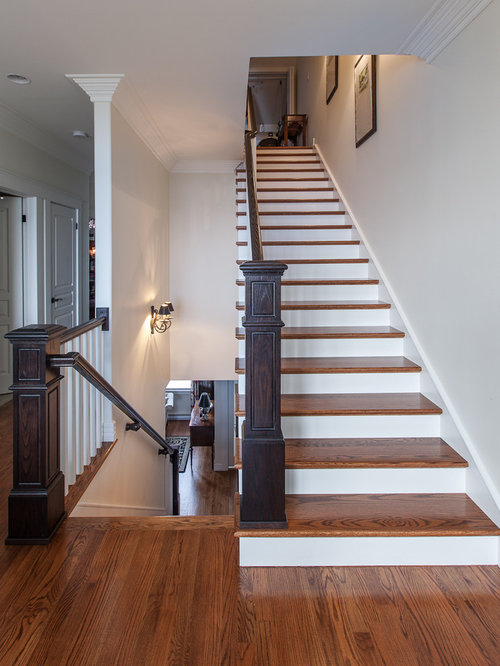 Best Stained Stair Tread Ideas Design Ideas Amp Remodel