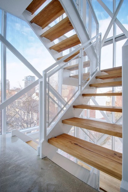 Industrial Staircase by Andrew Snow Photography