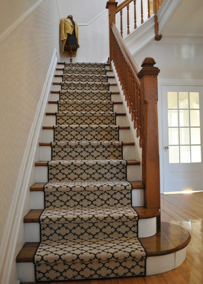 Marvelous Traditional Staircase by Morisset Design