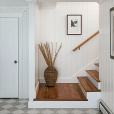 Traditional Staircase by Nantucket Beadboard Co., Inc.