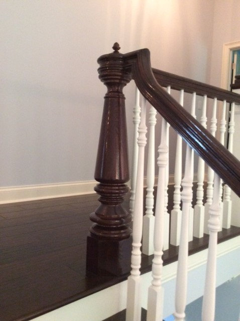 """Nantucket Cliffs"" 8"" Newel Post & Cap Reproduction"