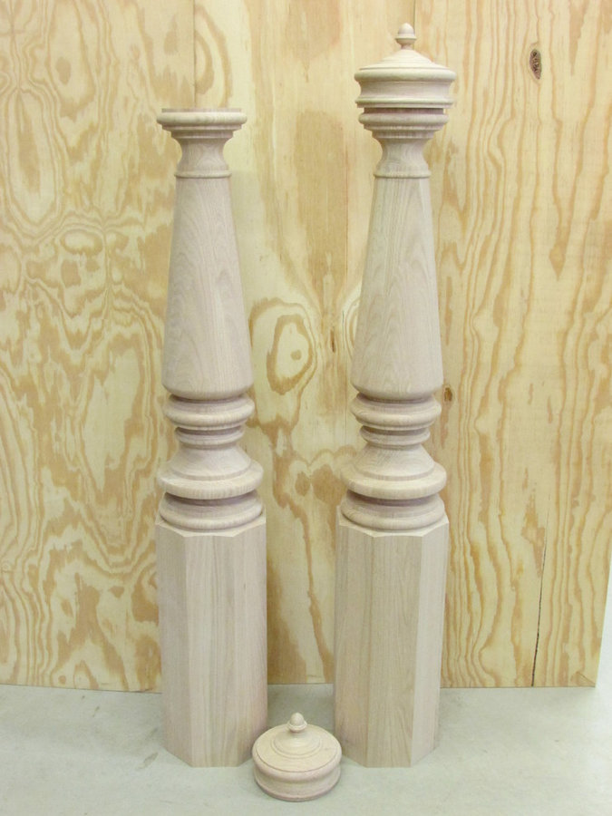 """Nantucket Cliffs"" 8"" Newel"