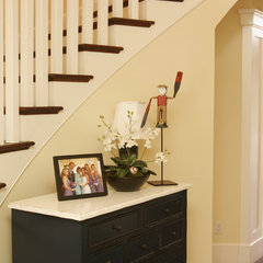 traditional staircase by Darci Goodman Design