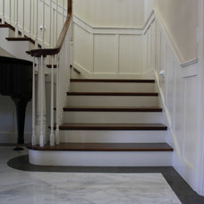 Traditional Staircase by Cabochon Surfaces & Fixtures