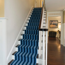 Traditional Staircase by Beach Glass Interior Designs