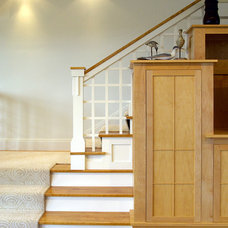Beach Style Staircase by Marcus Gleysteen Architects